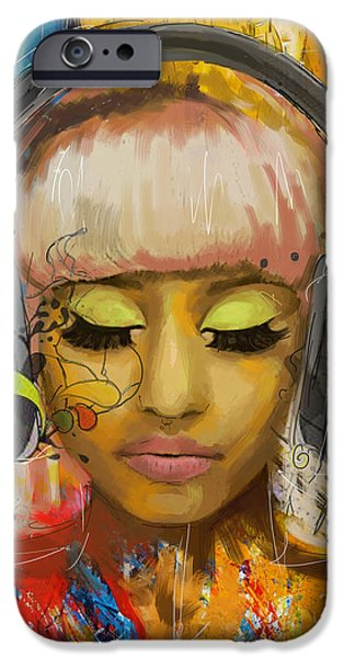 Hip-hop iPhone Cases - Nicki Minaj iPhone Case by Corporate Art Task Force