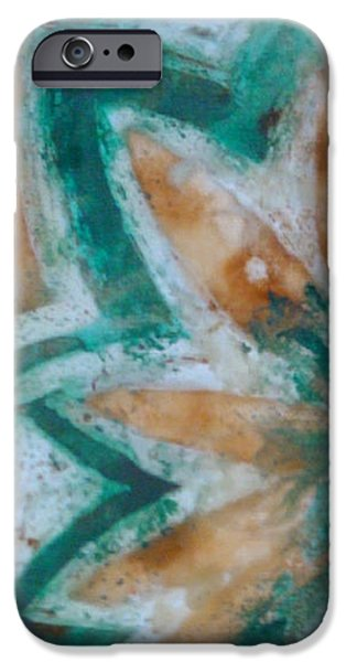 Pastel Tapestries - Textiles iPhone Cases - Night and Day 004 iPhone Case by Lori Russell