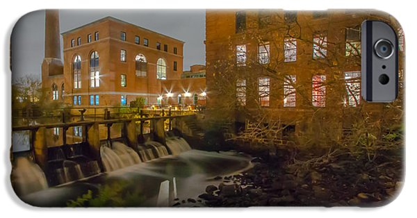 Best Sellers -  - Boston Ma iPhone Cases - Night at the River iPhone Case by Brian MacLean