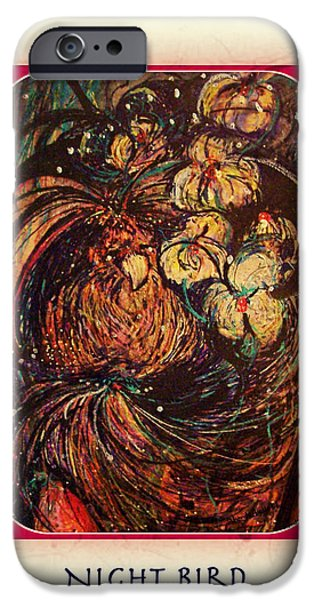 Night Bird iPhone Case by YoMamaBird Rhonda