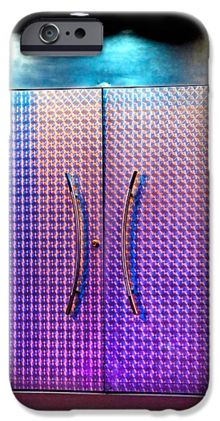 Stainless Steel iPhone Cases - Night Club Entrance iPhone Case by Lena Wilhite