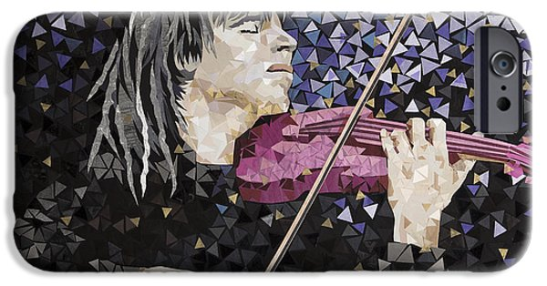 Music Tapestries - Textiles iPhone Cases - Night Concerto  iPhone Case by Tanya Mayer