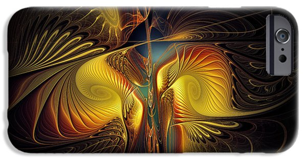 Contemplative iPhone Cases - Night Exposure iPhone Case by Karin Kuhlmann