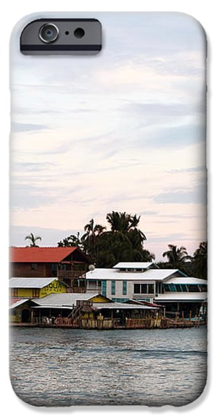 Night is Coming at Bocas iPhone Case by John Rizzuto