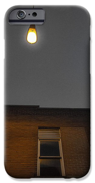 City Scape Photographs iPhone Cases - Night light iPhone Case by Jim Pearson