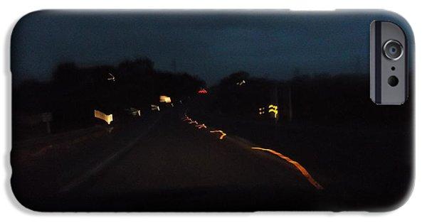 Image iPhone Cases - Night light series no.2 iPhone Case by Ingrid Van Amsterdam
