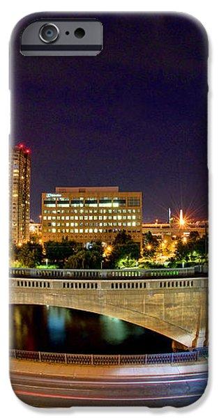 Night Moves 2-Boston iPhone Case by Joann Vitali