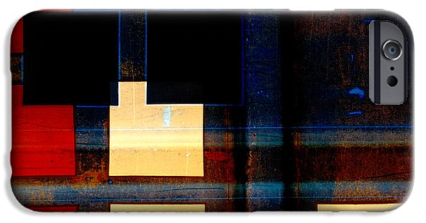 Evening Digital Art iPhone Cases - Night Moves iPhone Case by Carol Leigh