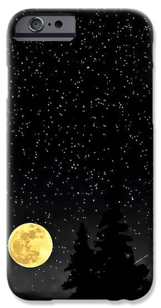 Night Moves iPhone Case by Steve Harrington