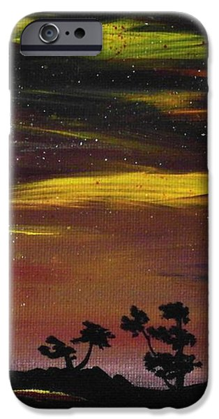 Night Scene iPhone Case by Anastasiya Malakhova