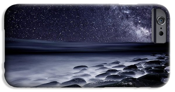 Mood iPhone Cases - Night shadows iPhone Case by Jorge Maia
