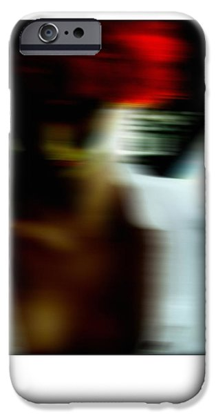 Photos With Red iPhone Cases - Night Shift  iPhone Case by Steven  Digman