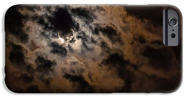Multimedia iPhone Cases - Night Sky - Autumn 3 iPhone Case by Frank Mari