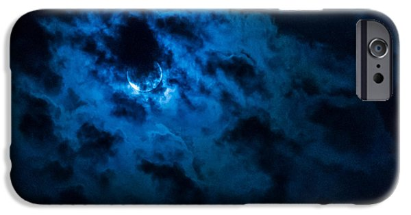 Multimedia iPhone Cases - Night Sky - Autumn 4 iPhone Case by Frank Mari