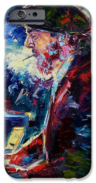 Night Tripper iPhone Case by Debra Hurd