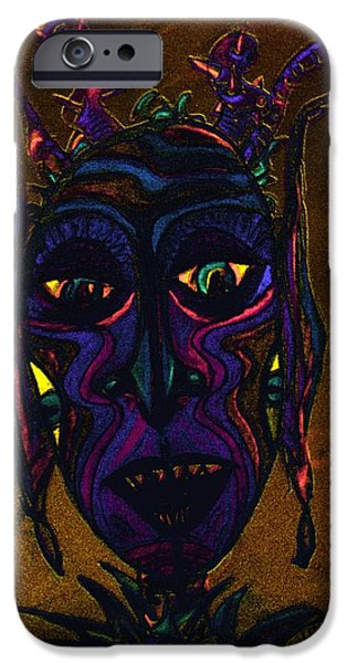 Ego iPhone Cases - Night You iPhone Case by Mimulux patricia no