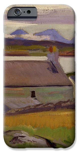 Nightfall  Iona iPhone Case by Francis Campbell Boileau Cadell