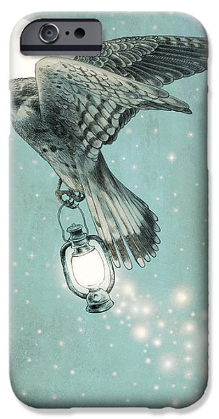 Flight iPhone Cases - Nighthawk iPhone Case by Eric Fan