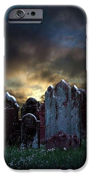 Nightmare Hill iPhone Case by Svetlana Sewell