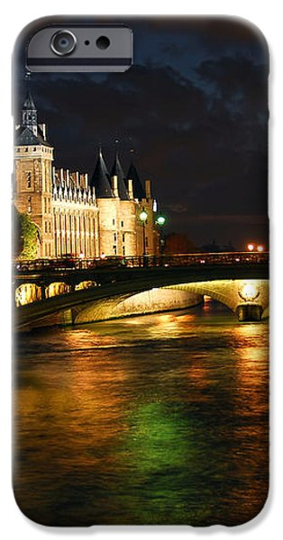 Nighttime Paris iPhone Case by Elena Elisseeva
