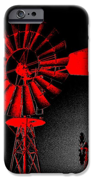 Nightwatch iPhone Case by Wendy J St Christopher