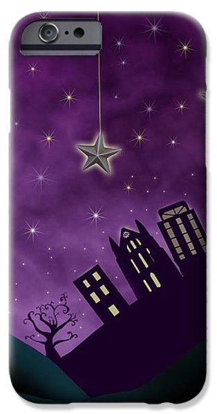 Nighty Night iPhone Case by Juli Scalzi