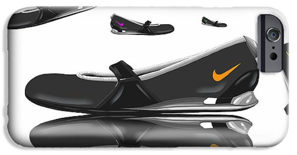Nike iPhone Cases - Nike iPhone Case by Veronica Minozzi