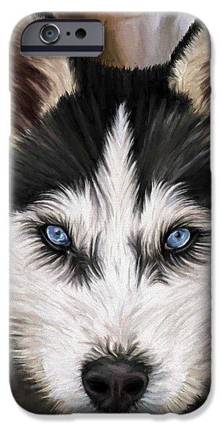 Nikki iPhone Case by David Wagner