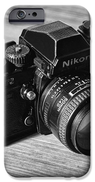 Nikon f3 iPhone Case by Taylan Soyturk