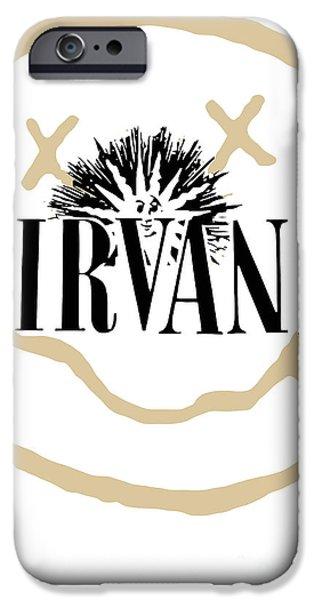 Nirvana iPhone Cases - Nirvana No.06 iPhone Case by Caio Caldas