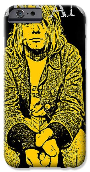 Nirvana iPhone Cases - Nirvana No.07 iPhone Case by Caio Caldas