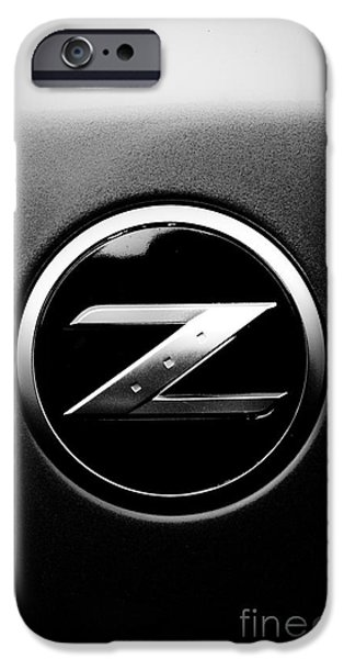 Racer iPhone Cases - Nissan Z iPhone Case by Jt PhotoDesign