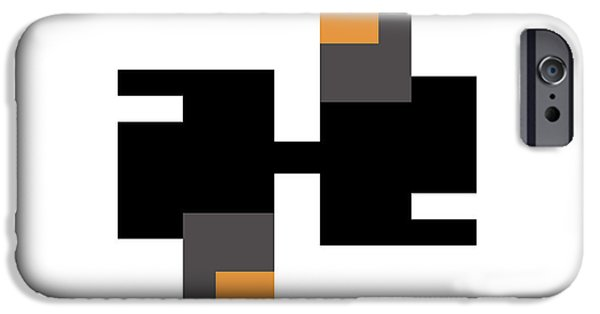 Modernart iPhone Cases - No. 25 iPhone Case by Joel Robinson
