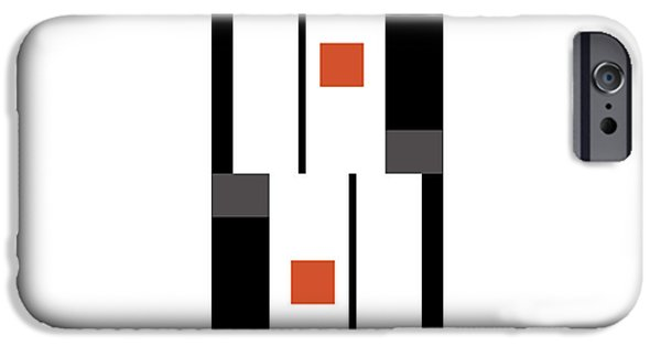 Modernart iPhone Cases - No. 26 iPhone Case by Joel Robinson