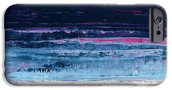 Abstract Realism iPhone Cases - No. 88 iPhone Case by Diana Ludet