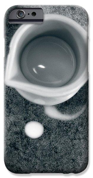 No Cream For My Coffee iPhone Case by Bob Orsillo