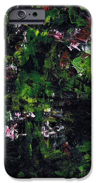 Metallica Paintings iPhone Cases - No Leaf Clover - Left  iPhone Case by Kamil Swiatek