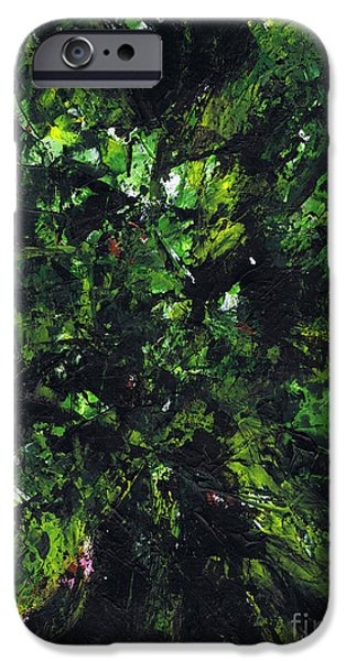 Metallica Paintings iPhone Cases - No Leaf Clover - Middle iPhone Case by Kamil Swiatek
