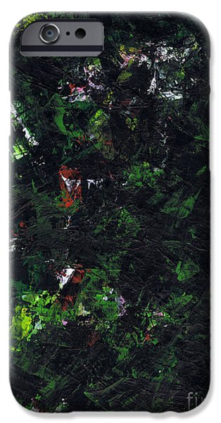 Metallica Paintings iPhone Cases - No Leaf Clover - Right iPhone Case by Kamil Swiatek