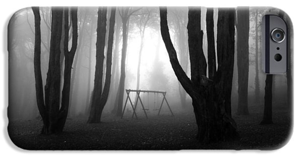 Bw iPhone Cases - No mans land iPhone Case by Jorge Maia