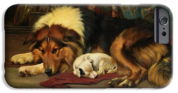Wright Barker iPhone Cases - No Walk Today iPhone Case by Wright Barker