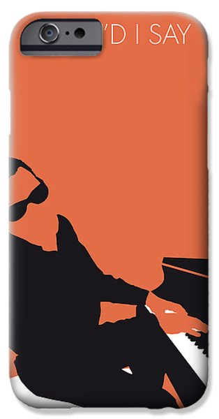 Rays iPhone Cases - No003 MY Ray Charles Minimal Music poster iPhone Case by Chungkong Art
