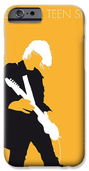 Nirvana iPhone Cases - No004 MY Nirvana Minimal Music poster iPhone Case by Chungkong Art