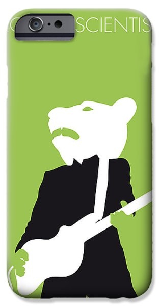 Eve iPhone Cases - No006 MY teddy bears Minimal Music poster iPhone Case by Chungkong Art