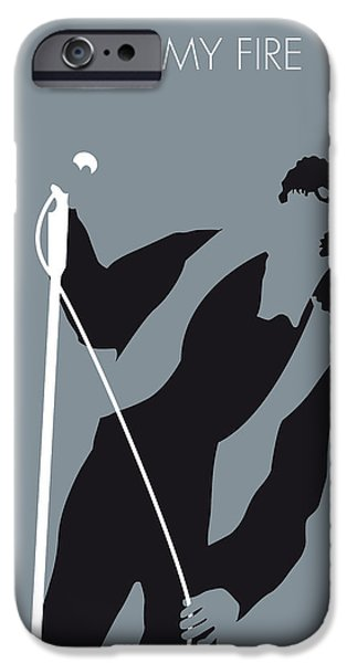 Door iPhone Cases - No007 MY The Doors Minimal Music poster iPhone Case by Chungkong Art
