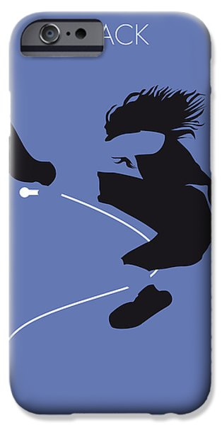 Jam Digital iPhone Cases - No008 MY Pearl Jam Minimal Music poster iPhone Case by Chungkong Art
