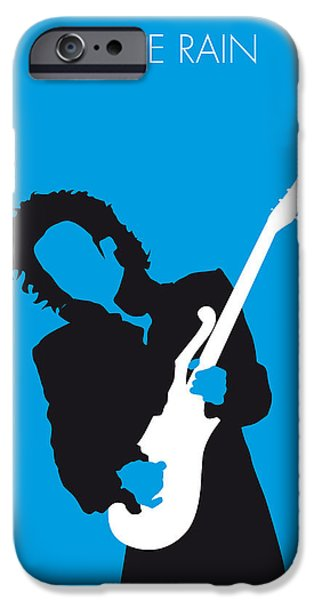 Purple Prints iPhone Cases - No009 MY PRINCE Minimal Music poster iPhone Case by Chungkong Art