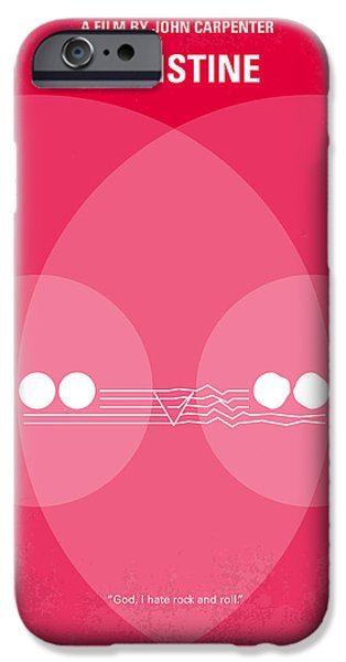 Graphic Design iPhone Cases - No016 My Christine minimal movie poster iPhone Case by Chungkong Art