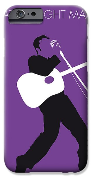 Graphic Design iPhone Cases - No021 MY ELVIS Minimal Music poster iPhone Case by Chungkong Art