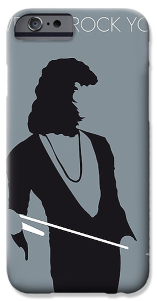 Queen Digital iPhone Cases - No027 MY QUEEN Minimal Music poster iPhone Case by Chungkong Art